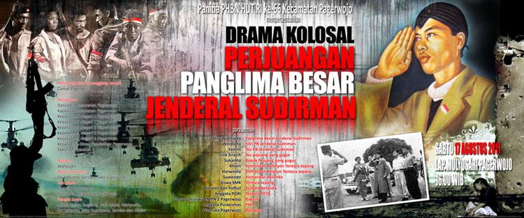 Drama Kolosal Jenderal Sudirman Pagerwojo