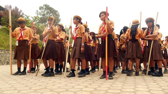 Bersenjata-tongkat