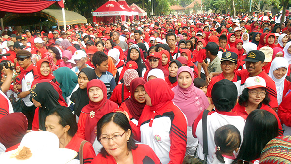 Gerak-Jalan-PGRI-Kabupaten-Tulungagung-2014