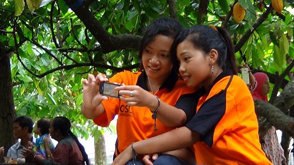 Rekreasi OSIS Sang Dewo di Kampung Coklat2 Blitar